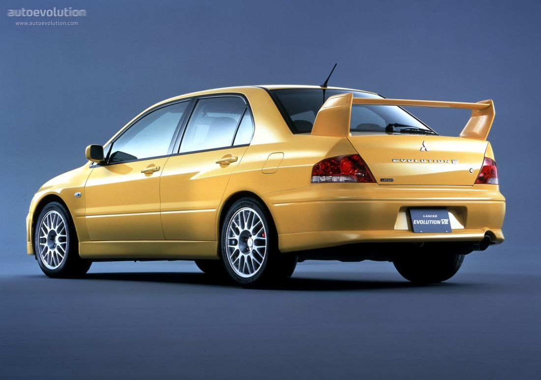 MITSUBISHI Lancer Evolution VII specs & photos 2000