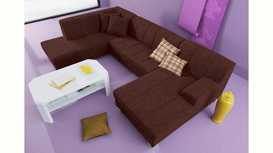 INOSIGN Wohnlandschaft wahlweise mit Bettfunktion Jetzt bestellen - wohnzimmer sofa braun