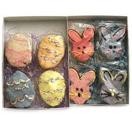 Selmas easter bunnies and eggs gift set easter egg and rice selmas easter bunnies and eggs gift set qvc negle Image collections