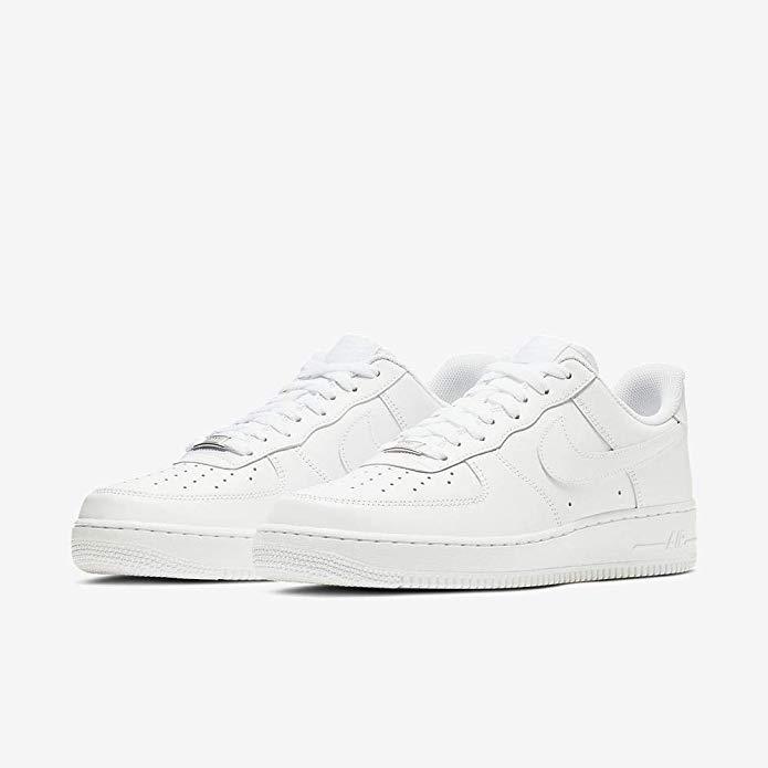 Sale Nike Air Force Leather Sneakers Whiteblack Nike Men