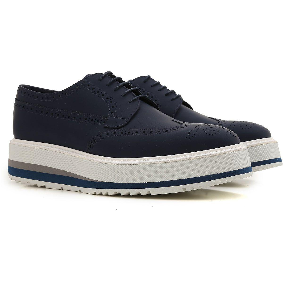 c8777b016143 Chaussures Prada pour homme, sneakers, mocassins et chaussures classiques.  Dernière Collection Prada Men