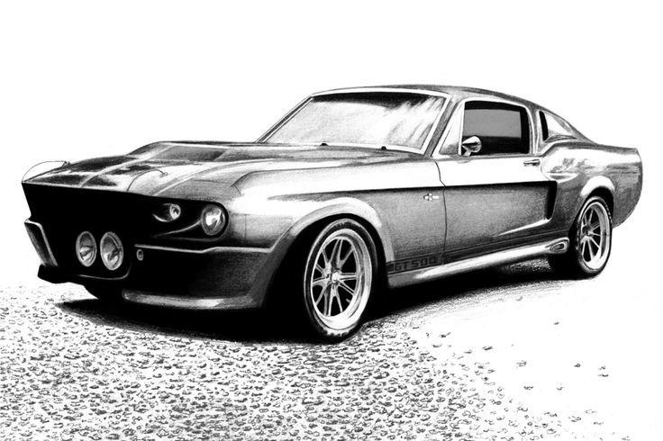 Shelby Mustang GT500 by autodrawings.deviantart.com on @deviantART ...