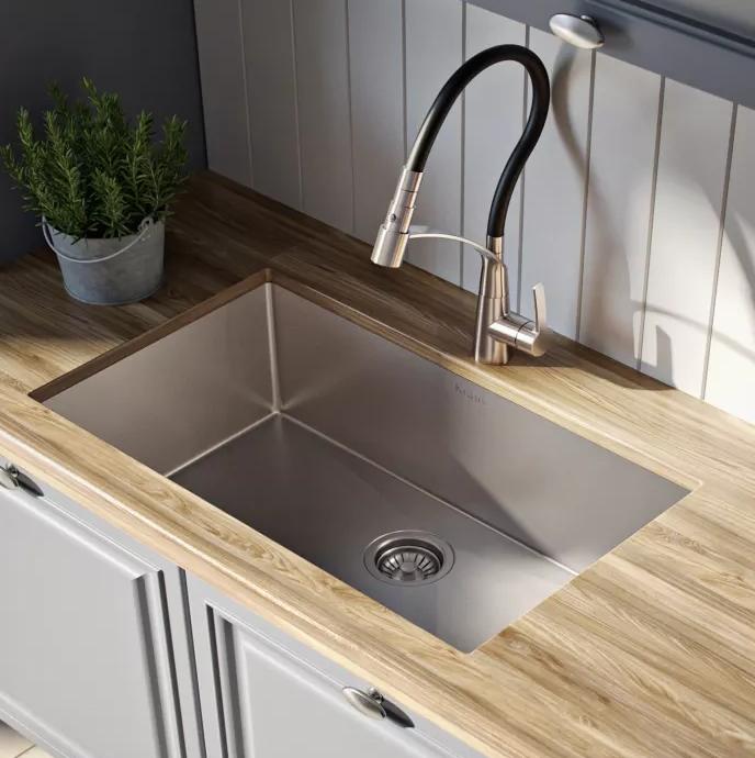 Kraus Standart Pro Undermount Sink Satin Finish Khu10026 In 2020
