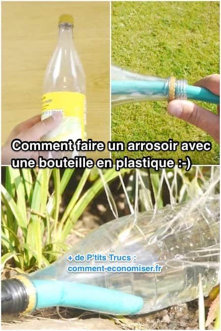 Comment Faire Un Arrosoir De Jardin Avec Une Simple Bouteille En