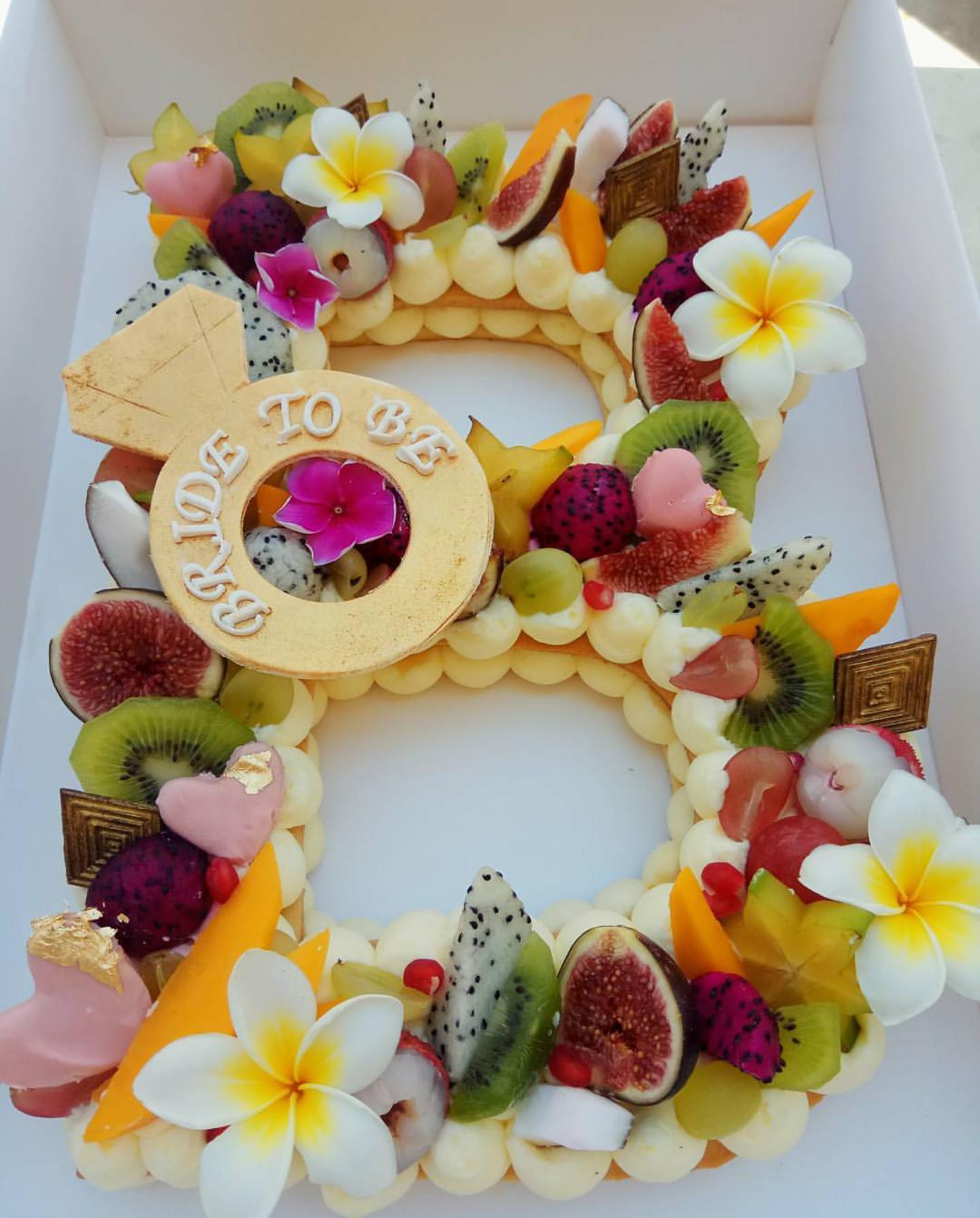 Fruit Cake Letter Cakeb Cake Almont Tart Healthy Cake