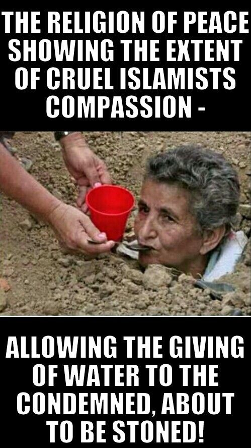 Showing compassion?