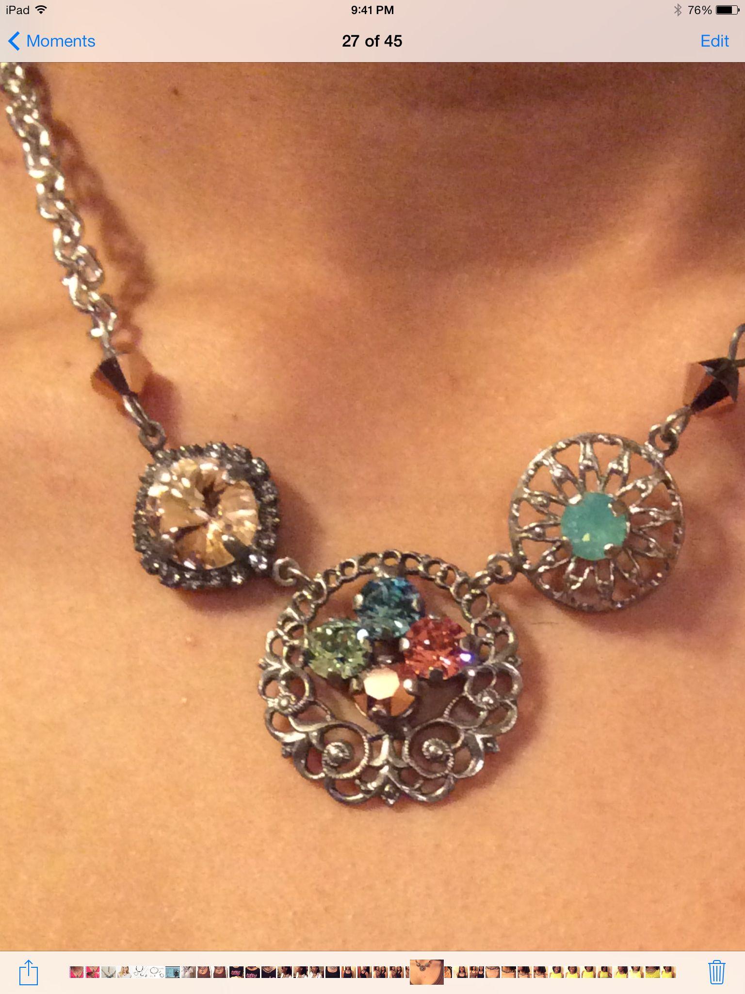 Sabika look necklace - Tray 1 Kindred Spirit Choker