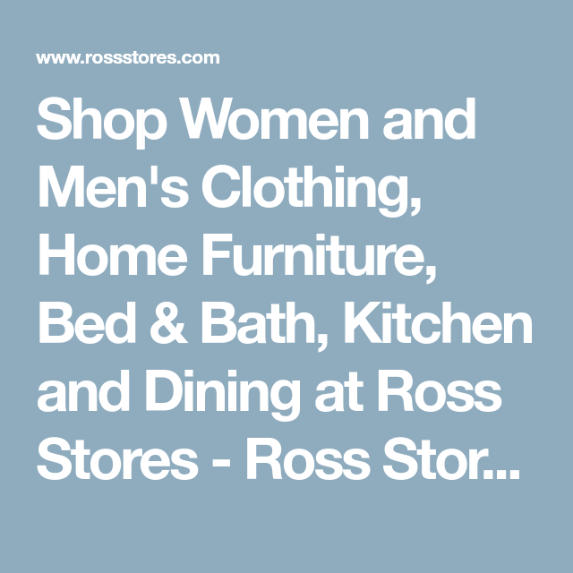 Shop Women And Menu0027s Clothing, Home Furniture, Bed U0026 Bath, Kitchen And  Dining