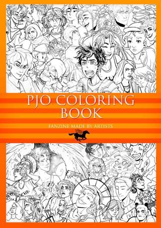 Pjo Coloring Book Project Mobile Version Coloring Books Book Projects Pjo