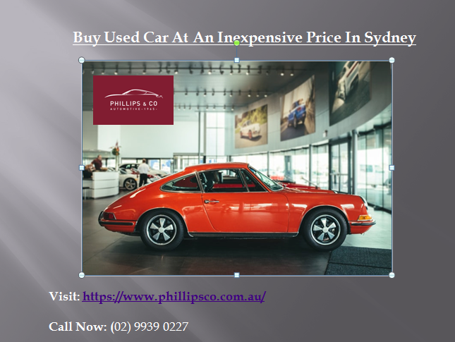 Phillips & Co. automotive Buy a used car at an