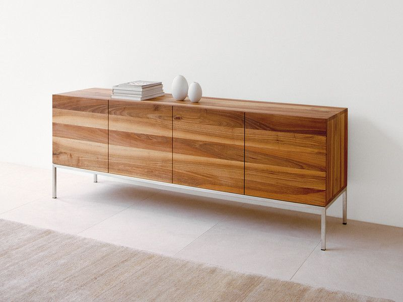 e15 sb02 farah sideboard walnut solid wood sideboard. Black Bedroom Furniture Sets. Home Design Ideas