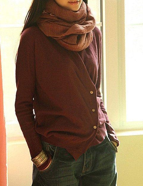laine tricots pull 3 couleurs robe grande taille par prettyforest22