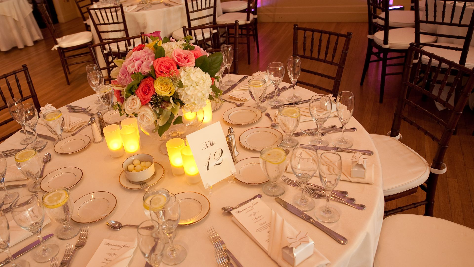 You Should Never Have To Worry About Open Flames At Your Wedding Reception S Tables Try