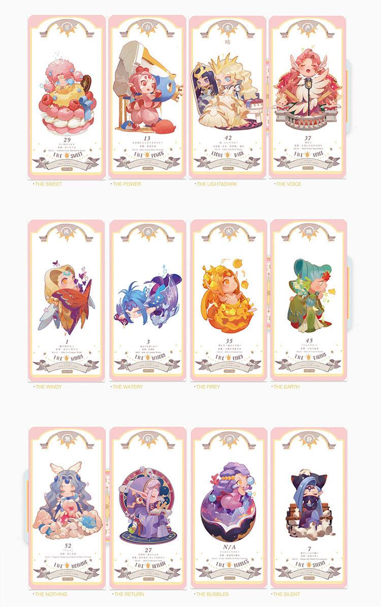 Anime Cardcaptor Tarjeta Captor Sakura Clow Tarjetas Tarot Tarjetas Libros Cosplay Coleccion In Complementos De Di Chibi Anime Cardcaptor Sakura Dibujos Kawaii