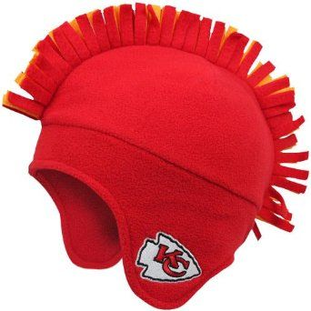 huge selection of 4a86a 3fb5b Amazon.com: NFL Kansas City Chiefs Youth Tomahawk Knit Cap ...