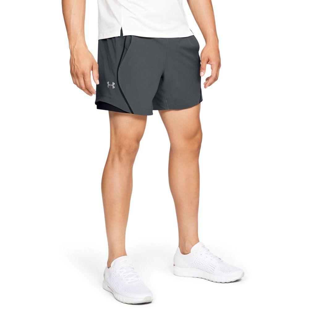 Under Armour Mens Ua Speed Pocket Linerless 6 Short