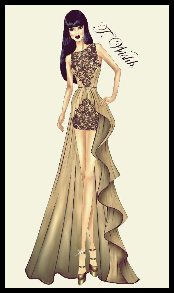 Fashion Design Dress 5. by TwISHH.deviantart.com on @DeviantArt ...