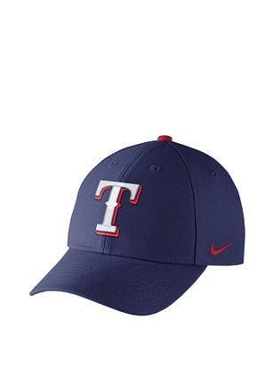 best service 23c45 9ebcb Nike Texas Rangers Mens Blue Wool Classic Adjustable Hat