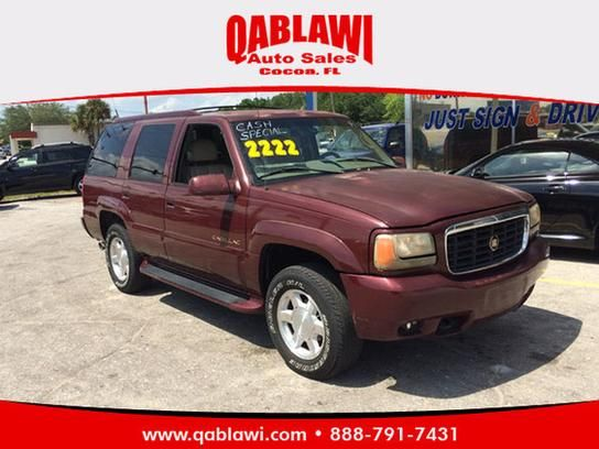 Cars for Sale: Used 2000 Cadillac Escalade in 4WD, Cocoa FL: 32922 Details - Sport Utility - Autotrader