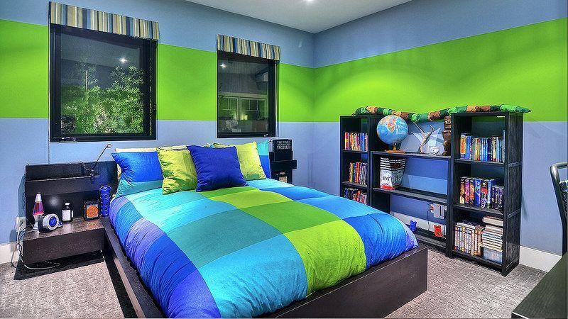 Boysroom Green Boys Room Boys Bedroom Green Boys Bedroom Colors Most popular teenage bedroom paint