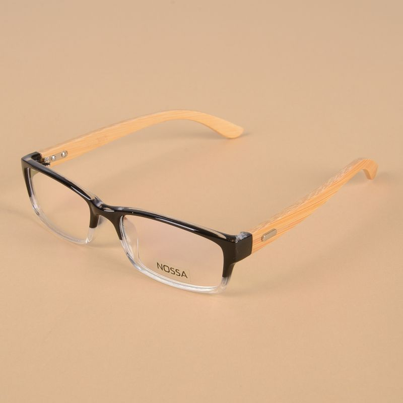 effcb9e1b4c Handmade Bamboo Eyewear Clear Lens Women And Men Original Wooden Glasses  Frame Unisex Myopia Frames Vintage