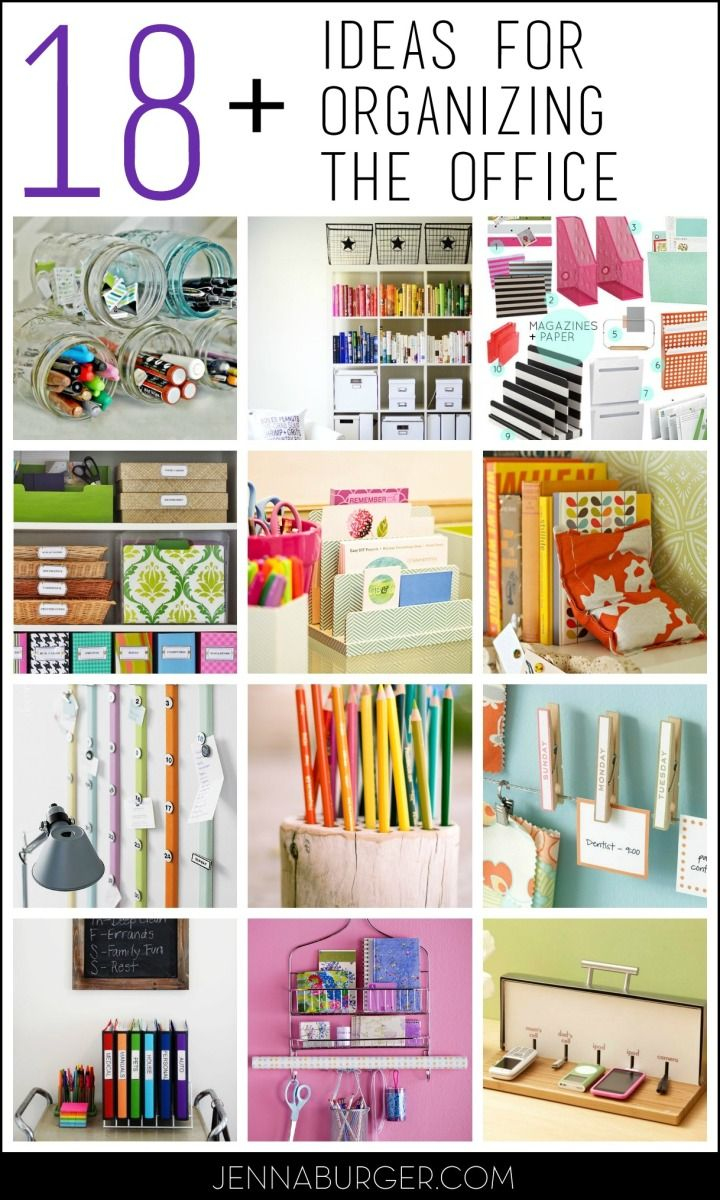 Organzing Ideas Tips For The Home Office Home Office
