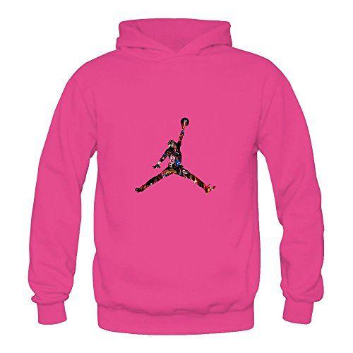 Women's Michael Jordan Logo Hoodies ANNLIN https://www.amazon.com/