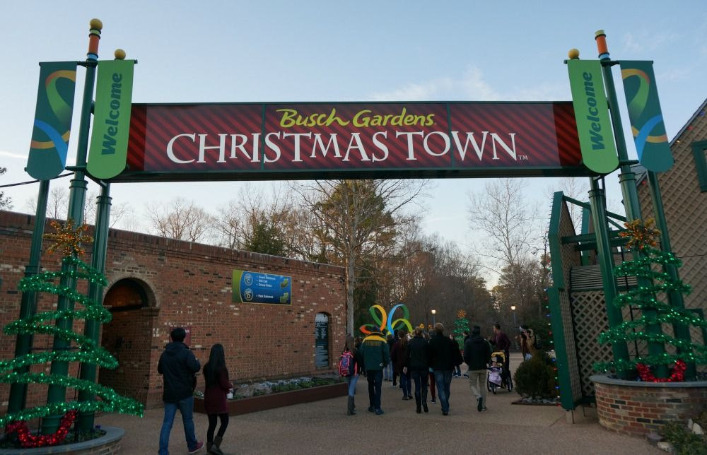 Christmas Town at Busch Gardens Hours, Discounts, Ways