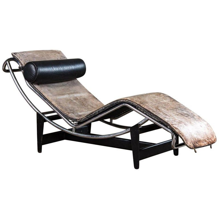 Jeanneret And Le Corbusier Lc4 Chaise Lounge In 2020 Lc4 Chaise Lounge Eames Chaise Lounge Le Corbusier Lc4 Chaise Lounge