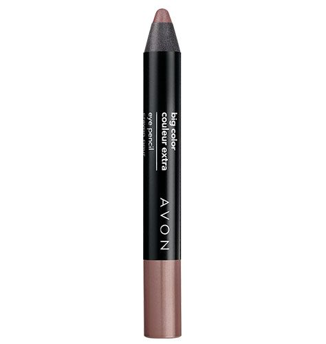 Avon Big Color Eye Pencil. Shadow and liner in one. Glide-on color lasts for hours. Waterproof.