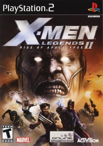 X Men Legends Ii Rise Of Apocalypse Playstation 2 Video Games Part 3 Would Be Nice Hombres X Descarga Juegos