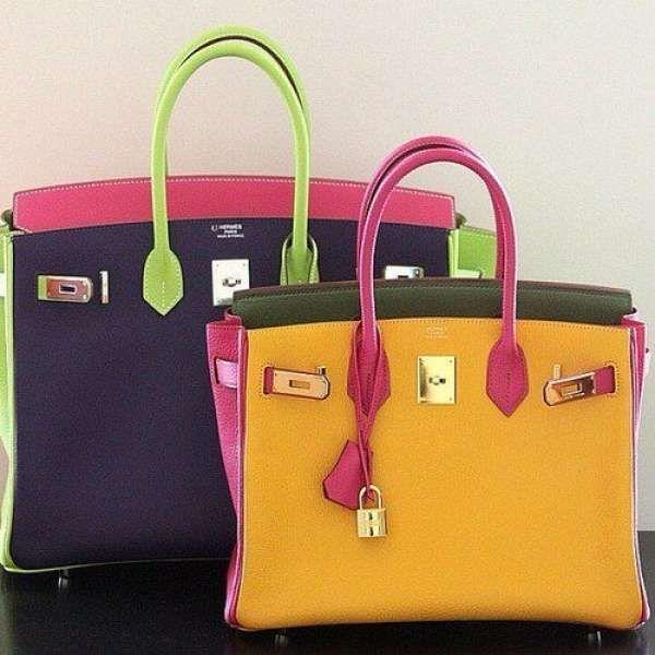 Classic Hermés multi colored handbag Taken with #snapette