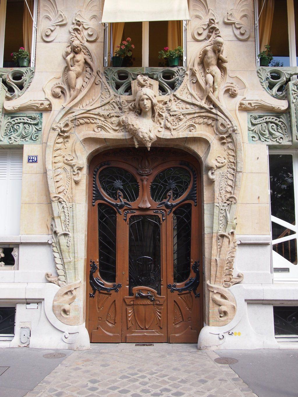 Jules lavirotte paris 29 avenue rapp 1901 art for Avenue jules dujardin 5