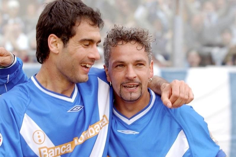 Image result for Baggio - Guardiola