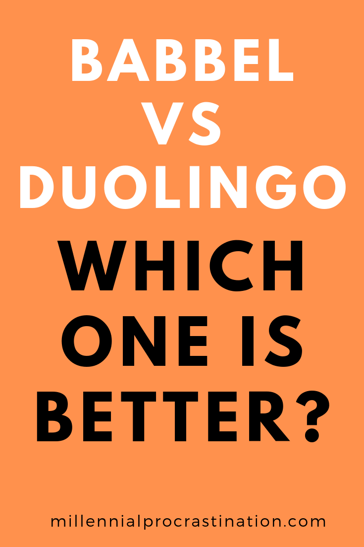Babbel Vs Duolingo in 2020 Best language learning app