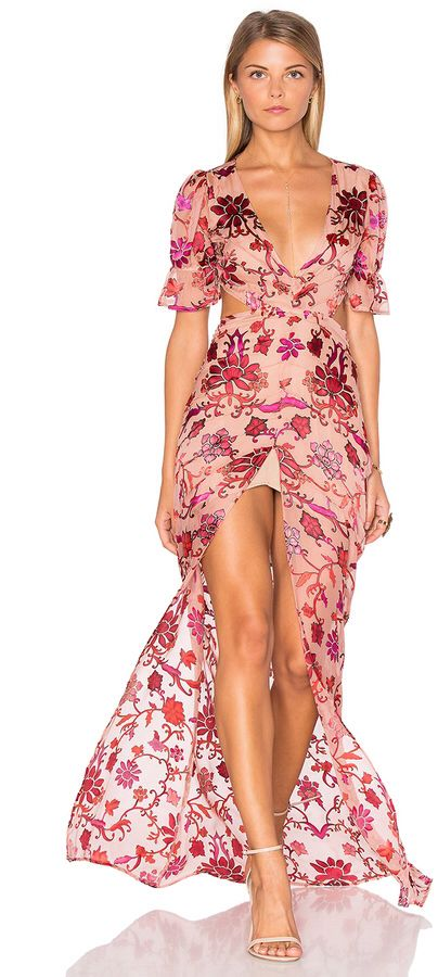 Midi Dress Summer Resort
