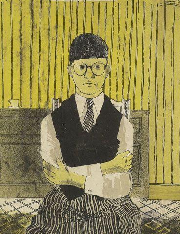 David Hockney - Self Portrait