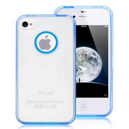 Colored Edges iPhone 4 & 4S Case