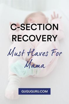 C-Section Recovery Must Haves | here are some product suggestions that will hopefully help you recover more comfortably and quickly, while you soak up all the wonderfulness of new mommyhood. #motherhood #pregnancy #baby