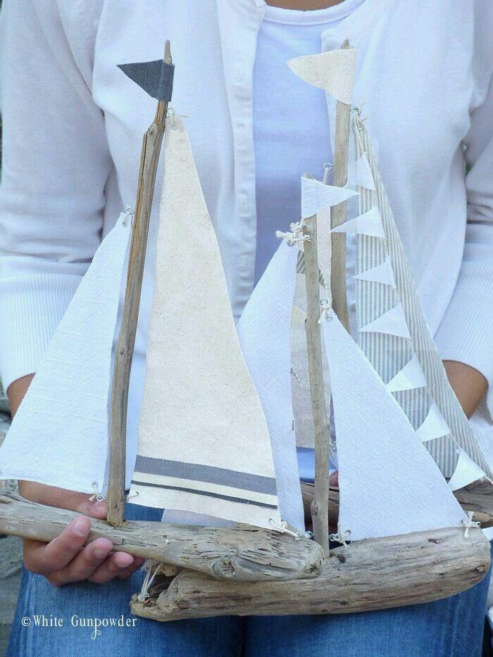 Pin von Анастасия auf Поделки   Pinterest   Treibholz und Schiffe