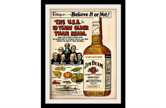 vintage jim beam advertising - Google zoeken