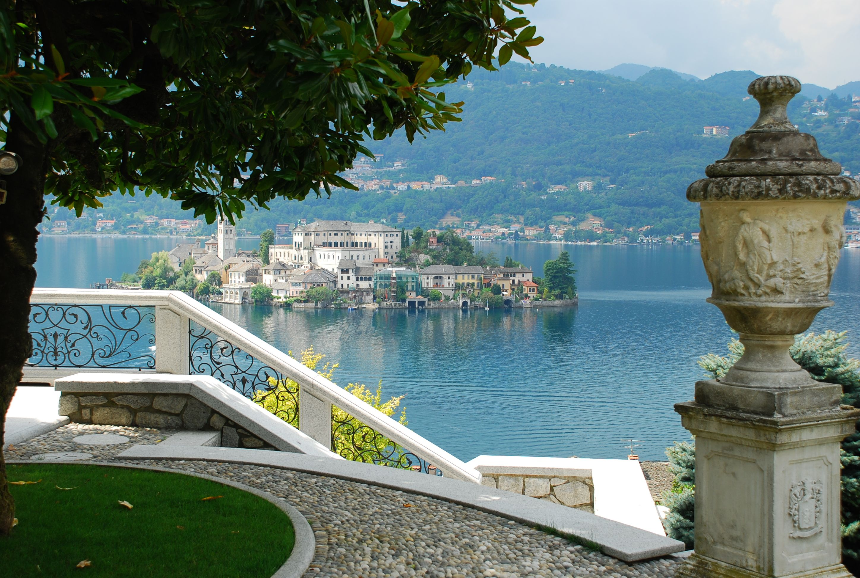 Lake Orta, Island of St. Giulio
