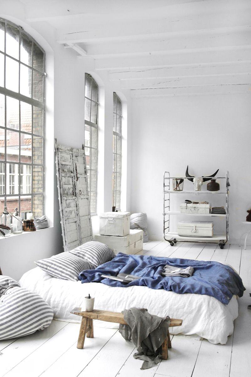 Urban Bedroom, Cozy Bedroom, Sofa For Bedroom, Light Bedroom, Room Design  Bedroom
