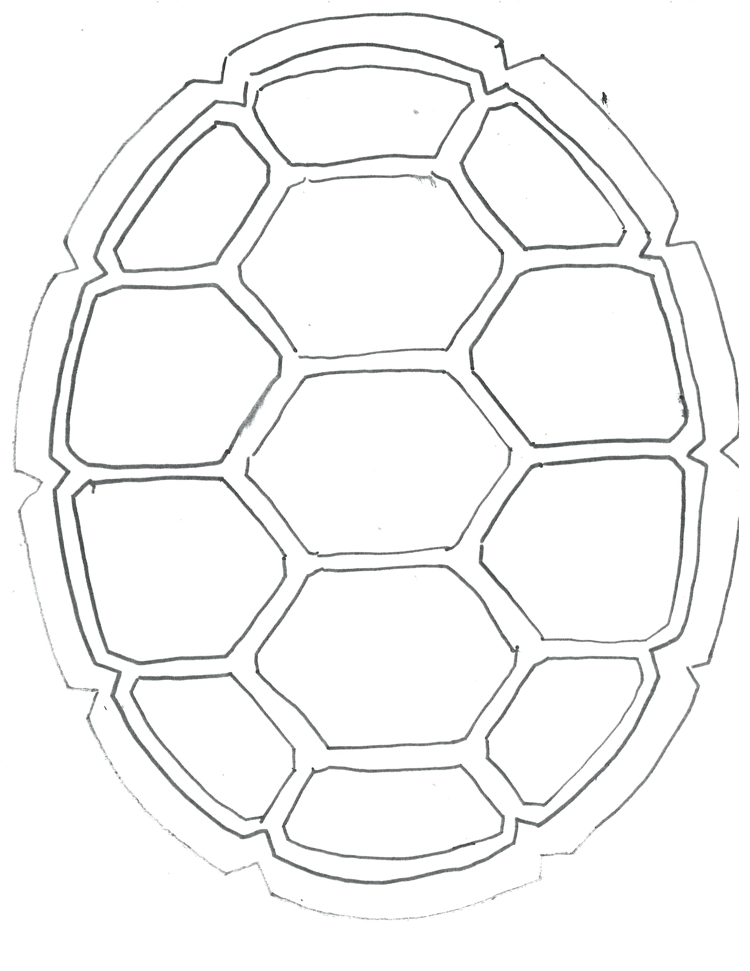 2550x3300 Turtle Shell Template Turtle Drawing Turtle Shell