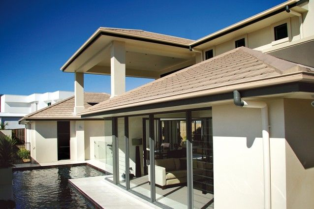 Monier Roofing Concrete Roof Tiles Roof Tiles House Exterior