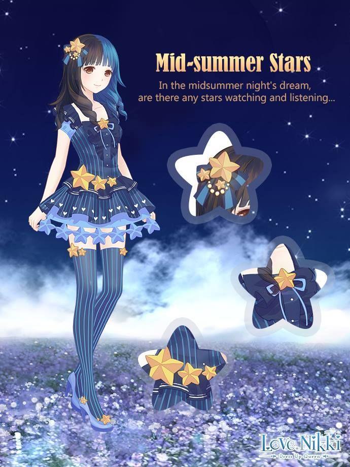 Midsummer Stars in 2020 Cute anime character, Nikki