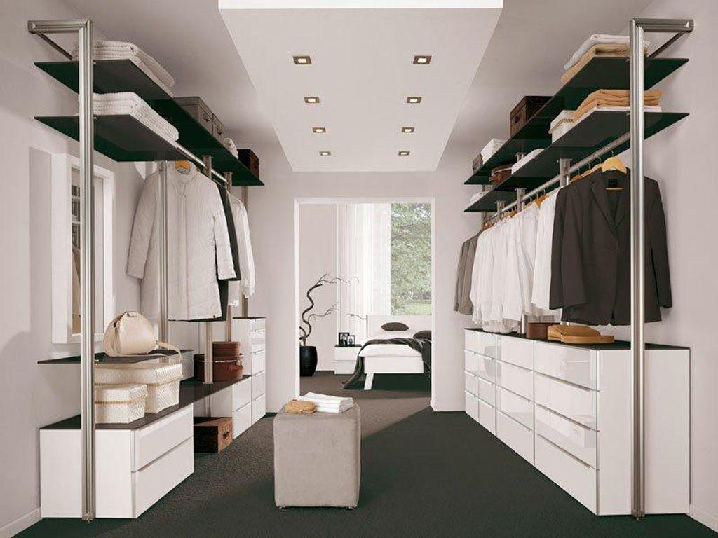 Open Inloopkast Slaapkamer : Open kledingkast opgeruimd kledingkast inloopkast