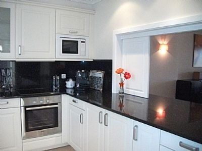 - kitchen with serving hatch to dining room (With images ...