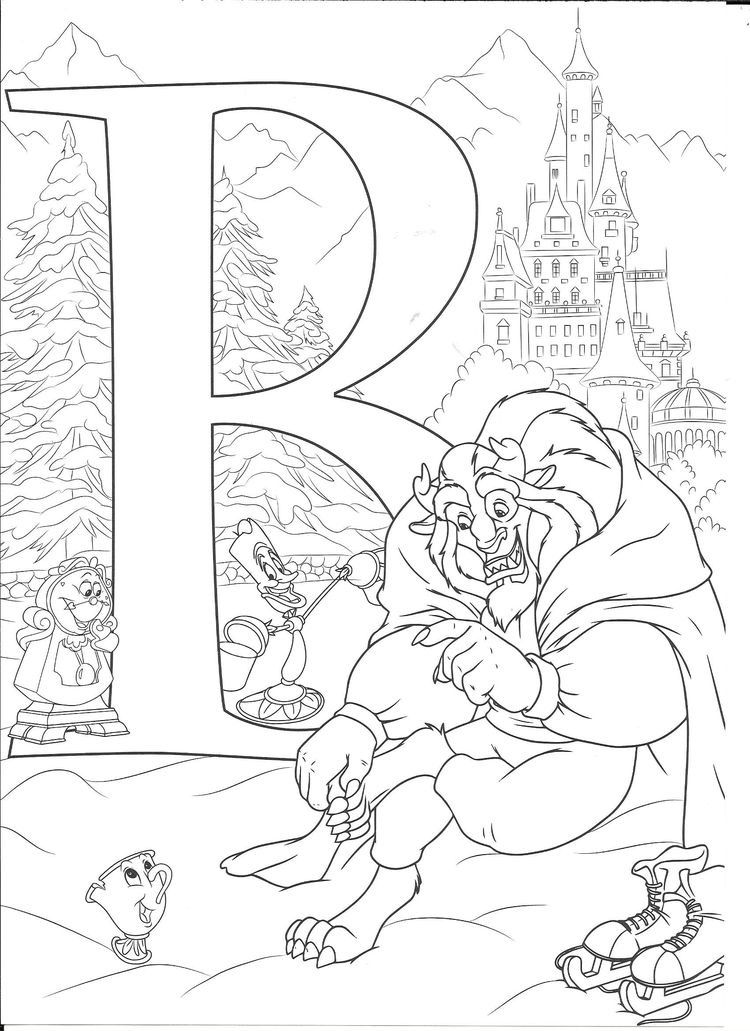 Disney Abc Coloring Pages Disney Coloring Sheets Abc Coloring