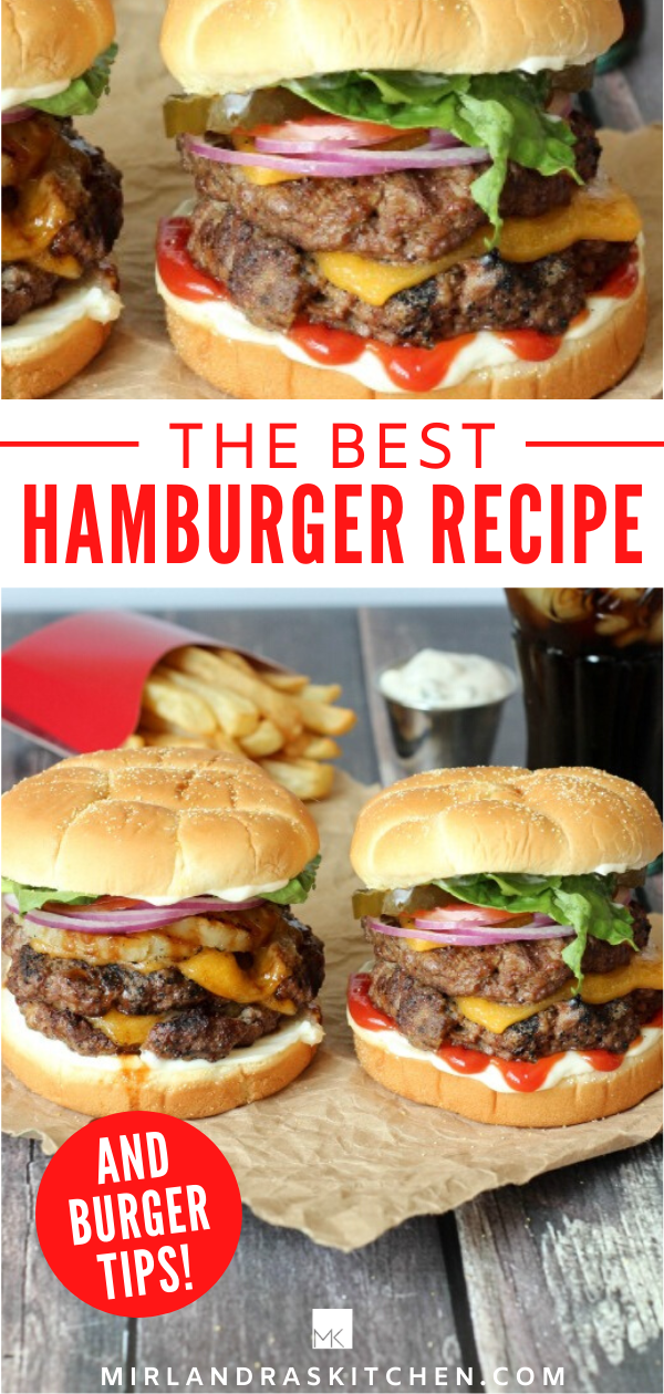 Ultimate Guide To Grilling Hamburgers The Best Recipe Grilling Tips Mirlandra S Kitchen Recipe Best Hamburger Recipes Grilled Hamburger Recipes Best Hamburger Patty Recipe